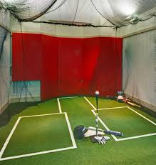 before you buy an indoor batting cage net consider your space