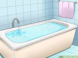 How To Take The Stopper Out Of A Bathtub How To Take A Bath 15 Steps With Pictures Wikihow