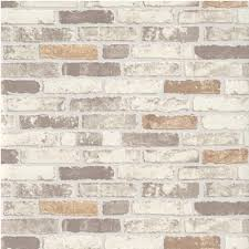 erismann brix brick wall effect embossed textured wallpaper 6703