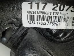 used mercury exterior mirrors for sale