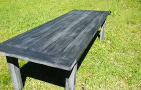 Diy Farmhouse Table And Bench Diy Farmhouse Table With Benches Myoutdoorplans Free