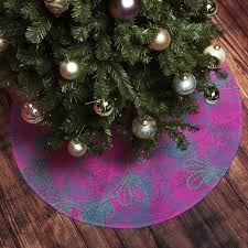 Lighted Christmas Tree Skirt Pink Christmas Tree Gardens And Landscapings Decoration