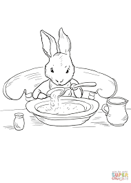 peter rabbit at home coloring page free printable coloring pages