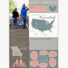 year in review christmas card bta designs year in review family new year christmas newsletter