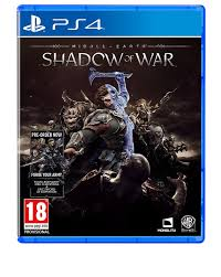 sony playstation 4 middle earth shadow of war pre order games