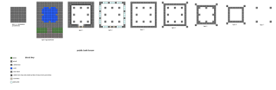 minecraft building floor plans this is the latest version of my small inn design made for use in