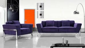 Living Room With Purple Sofa Fabric Purple Sofa Set Vg Vogue Sofas