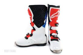 alpinestars tech 8 light boots alpine stars tech 8 dirt bike magazine