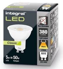 gu10 50w halogen light bulbs gu10 led bulb classic glow 50w halogen equivalent integral