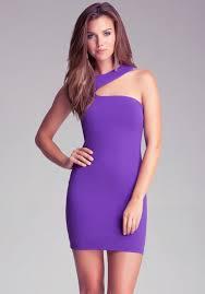bebe purple dress zilnasa waker