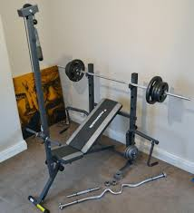 york weight bench with lat pulldown bench decoration