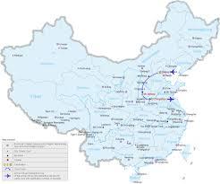 China On Map by Take A 7 Days China Cycling Tour Along The Taihang Mountain