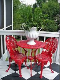 Fred Meyer Outdoor Furniture by Color Quenching Patio Set Rust Oleum Stops Rust Satin Enamel