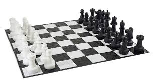 amazon chess set amazon com giant chess set with giant mat garden u0026 outdoor