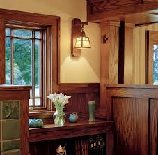Craftsman Style Interior Craftsman Style Bookcase Mission Style Island Legs Columns
