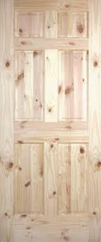Knotty Pine Interior Doors Pine Raised Panel Interior Doors Clear And Knotty Pine Interior