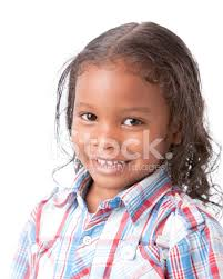 boys hairstyles mixed raced real people mixed race smiling little boy long hair headshot