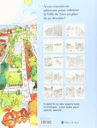 papier peint a colorier amazon fr cahier de coloriages nice virginie broquet livres