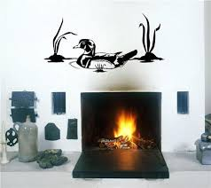 Home Decor Decals Duck Hunting Wall Decals Mural Home Decor Vinyl Stickers Decorate