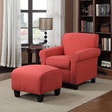 Living Room Chairs And Ottomans by Amazon Com Handy Living Wtk1 Cu Lin47 Winnetka Chair And Ottoman