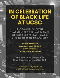in celebration of black at uc santa student success