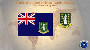 Bvi Flag British Virgin Islands National Anthem Youtube