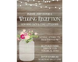 reception only invitations masterly wording for wedding reception only invitations