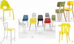 réveillez votre déco avec le jaune 4 pieds tables chaises