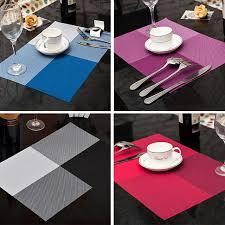 napperon de cuisine nouveau mode pvc table à manger napperon cuisine outil vaisselle pad
