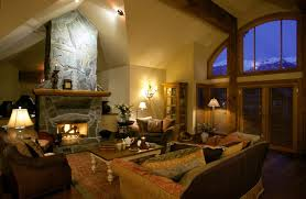 Traditional Livingroom by 25 Cozy Living Rooms With Fireplaces