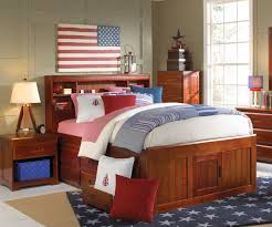 Boys Twin Bed With Trundle Practical Twin Size Bed With Drawers Bedroom Ideas