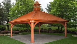 backyard pavilions wood pavilions stoltzfus structures
