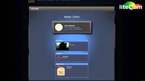 counter strike global offensive foil badge steam