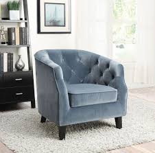 Tufted Accent Chair 902710 11 Barrel Back Button Tufted Accent Chair Colors