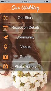 wedding planner apps weddings app templates android iphone
