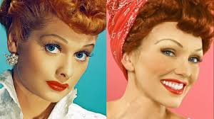 i love lucy lucille ball i love lucy makeup tutorial youtube
