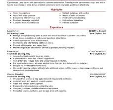 Examples Of Server Resumes by Plush Server Resume Skills 6 Unforgettable Lane Examples To Stand