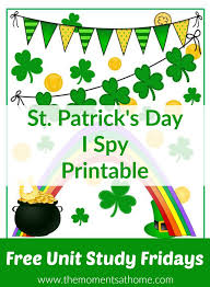 i spy st patrick u0027s day printable for kids the moments at home