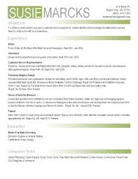 How Do You Build A Resume Photography Skills On Resume Resume For Your Job Application
