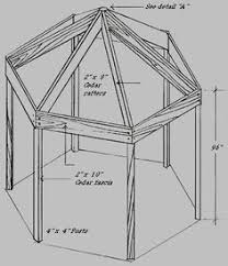 Free Woodworking Plans Projects Patterns Garden Outdoors Stairs by Do It Yourself Gazebo Plans Free Gazebo Blueprints