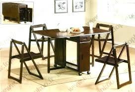 table de cuisine avec chaise table de cuisine pliante avec chaises integrees mattdooley me