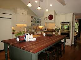 table as kitchen island kitchen island table house beautiful