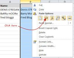 excel changing capital letters to sentence case harlow