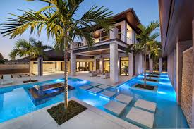 Great Pool Great Design Modern Swimming Pool Villa Makeovers Small Elegant