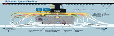 detroit metro airport map terminal maps