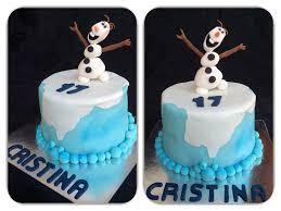 pastel de chocolate olaf de frozen felicitats cristina u2013 les