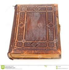 leather bound photo book single leather bound book royalty free stock photos image
