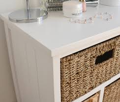 Bathroom Storage Unit White by Tetbury Storage Unit Large Chest Of Drawers Storage Baskets