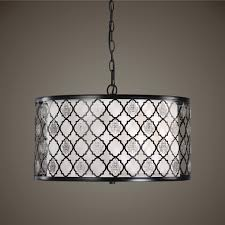 Uttermost Pendant Lights by Mee Young Doesn U0027t Like Uttermost Filigree 3 Light Drum Pendant