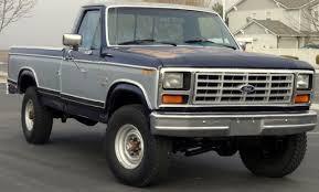 1984 ford f250 diesel mpg ford f 250 standard cab 1984 blue silver for sale